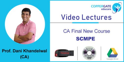 CA Final New Course Strategic Cost Management & Performance Evaluation (SCMPE)  by CA Dani Khandelwal [Full Course] (2 views)