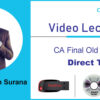 CA Final Old Course Direct tax by CA Siddharth Surana