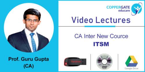 CA Inter  new ITSM by CA Guru Gupta  [Full Course] (Pendrive – 3 views)