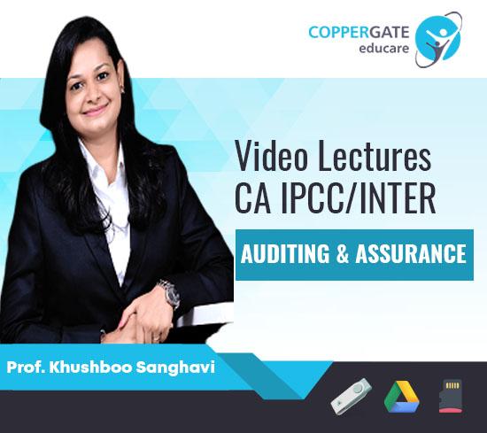 CA Inter/IPCC Audit By Prof. Khushboo Sanghavi [FastTrack]