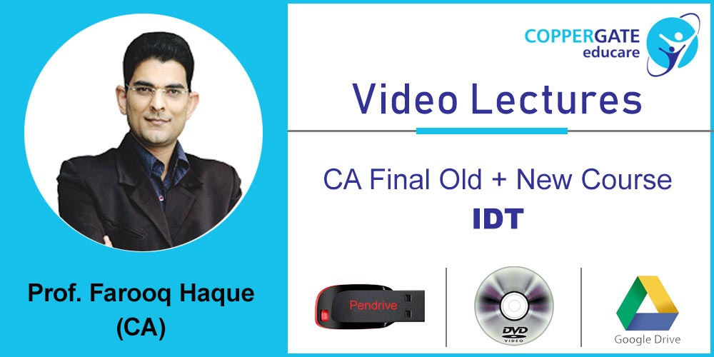 CA Final Old + New IDT by CA Farooq Haque [Full Course] 2 Views