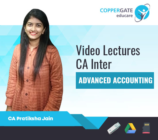 CA Inter Advanced Accounting by CA Pratiksha Jain [Full Course]