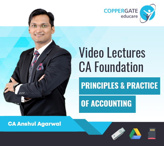 CA Foundation Principles & Practice of Accounting by CA Anshul Agarwal [Regular Course]