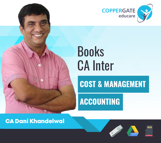 CA Inter Costing by Prof. Dani Khandelwal [Full Course Books]