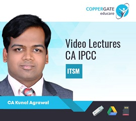 CA IPCC ITSM,Only IT/SM by CA Kunal Agrawal [Full Course]