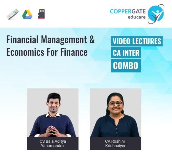 CA Inter Group 2 Financial Management & Economics for Finance by CS Bala Aditya Yanamandra & CA Roshini Krishnaiyer