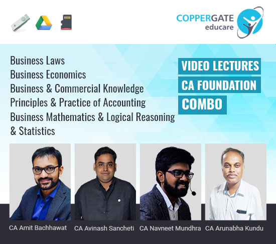 CA Foundation All Subjects by CA Amit Bachhawat,CA Avinash Sancheti,CA Navneet Mundhra,CA Arunabha Kundu