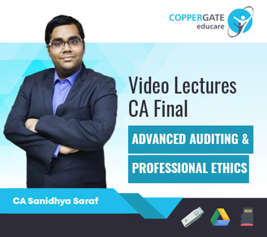 CA Final New/Old AUDIT by CA Sanidhya Saraf [Regular Course/Fast Track]