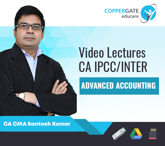 CA IPCC/Inter Group 2 Advanced Accounting by CA CMA Santosh Kumar