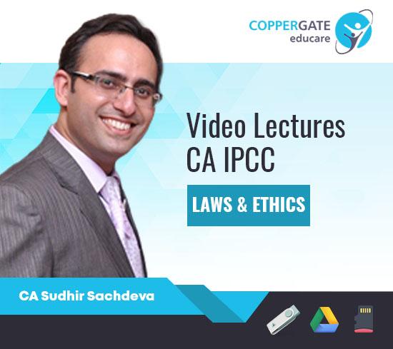 CA IPCC Laws & Ethics by CA Sudhir Sachdeva [Regular Course]