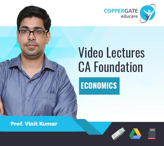 CA Foundation Economics by Prof. Vinit Kumar