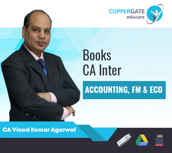 CA Inter Accounting,FM & Eco E-books by CA Vinod Kumar Agarwal [Book]