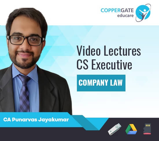 CS Executive New Company law (Module 1-Paper 2) by CA Punarvas Jayakumar [Regular]