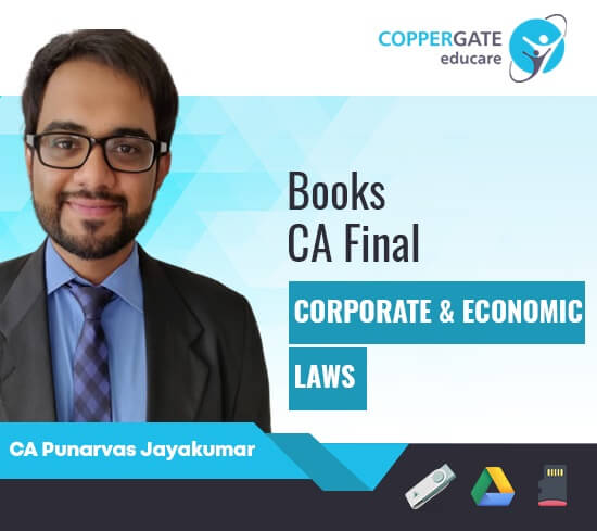 CA Final New Corporate & Economic Laws by CA Punarvas Jayakumar [Book]