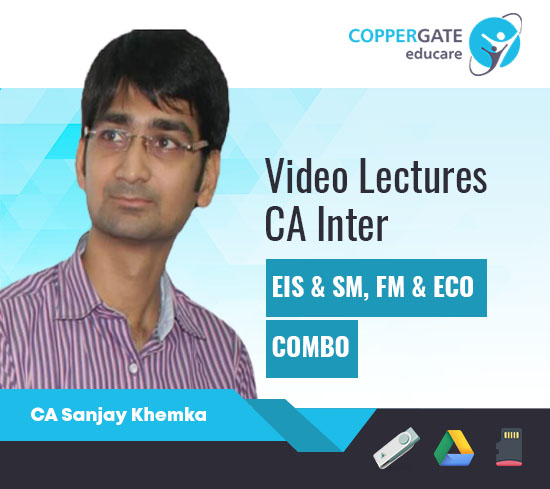 CA Inter EIS & SM, FM & ECO, Combo by CA Sanjay Khemka [Full Course]