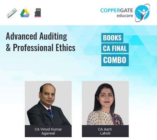 CA Final Audit E-books by CA Aarti Lahoti & CA Vinod Kumar Agarwal