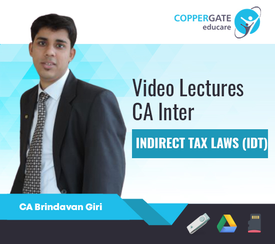CA Inter IDT by CA Brindavan Giri [Full Course]