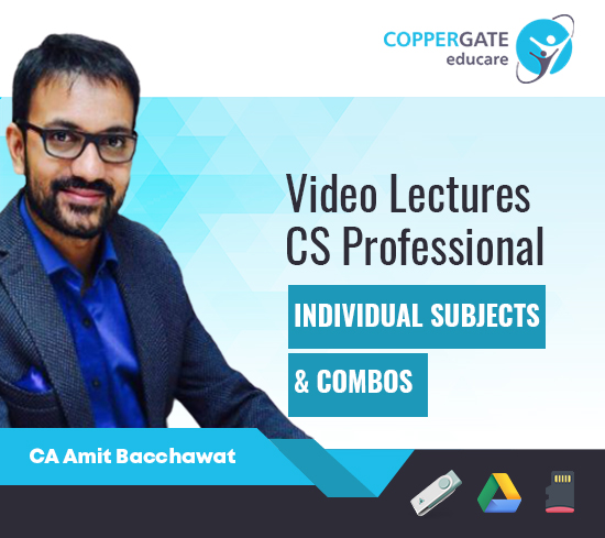 CS Professional Law,Audit and Other Subjects & Combos by CA Amit Bacchawat
