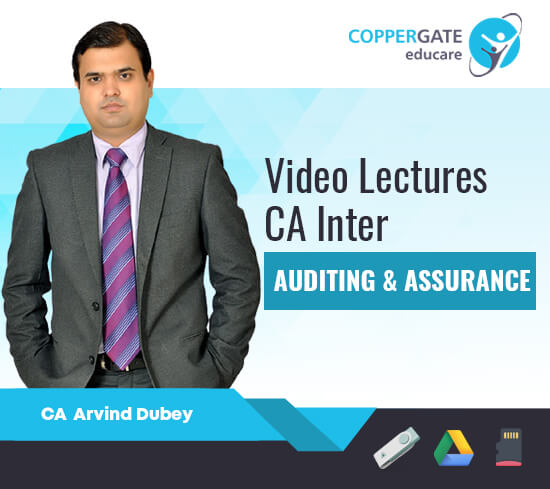 CA Inter Auditing & Assurance by CA Arvind Dubey [Regular Course]