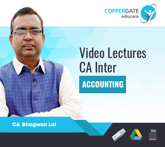CA Inter Group-1 Accounting by CA Bhagwan Lal [Regular Course]