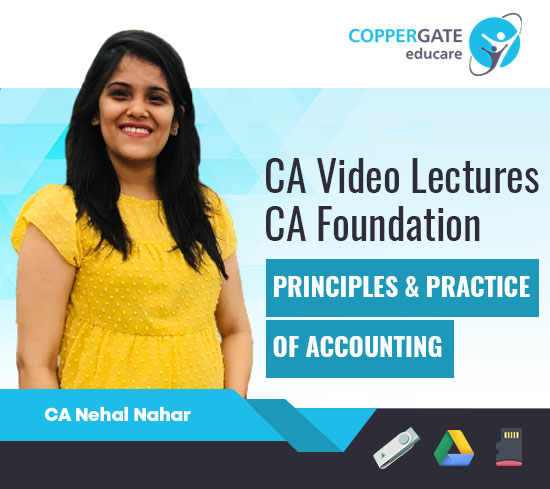 CA Foundation Principles & Practice of Accounting by CA Nehal Nahar [Regular]