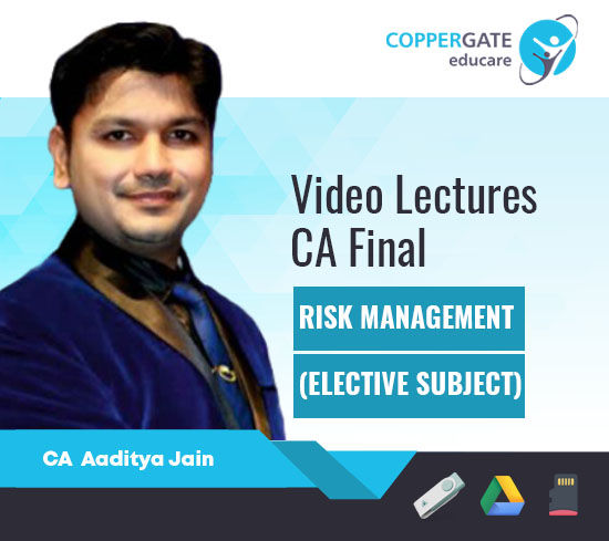 CA Final Elective Paper Risk Management by CA Aaditya Jain [Full Course]