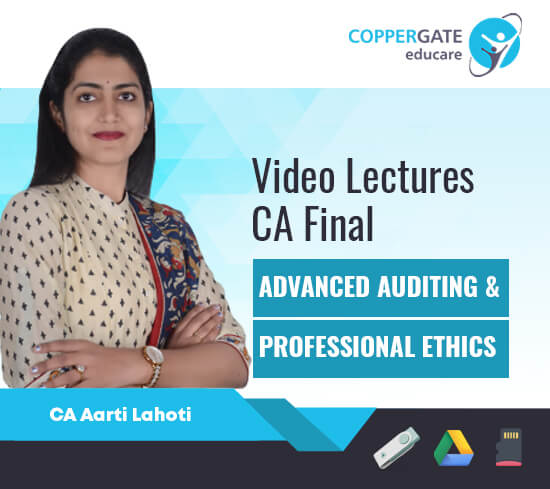 CA Final New/Old Advanced Auditing & Professional Ethics + SAs by CA Aarti Lahoti [Regular Course]