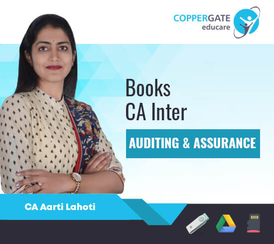 CA Inter Audit MCQ's E-book by CA Aarti Lahoti
