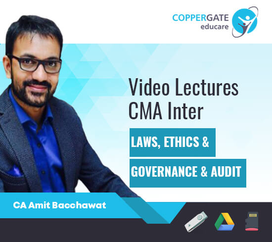 CMA Intermediate Law Ethics,Governance + Audit by CA Amit Bachhawat