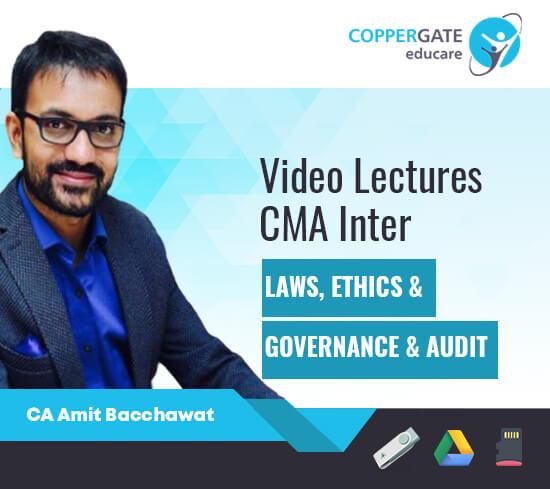 CMA Intermediate Law Ethics,Governance + Audit by CA Amit Bachhawat