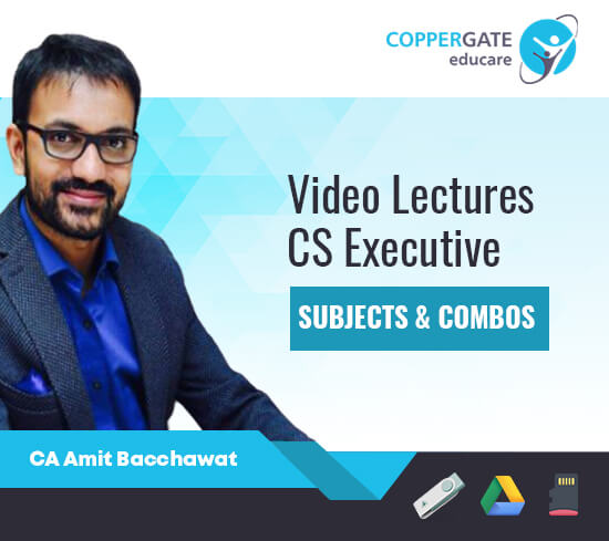CS Executive New Syllabus CL+SBEC+JIGL+SLCM+EBCL+SM by CA Amit Bachhawat