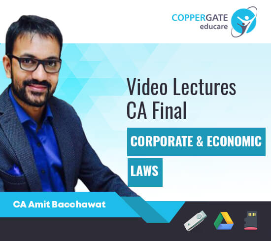 CA Final New Syllabus Corporate & Economics Laws by CA Amit Bachhawat