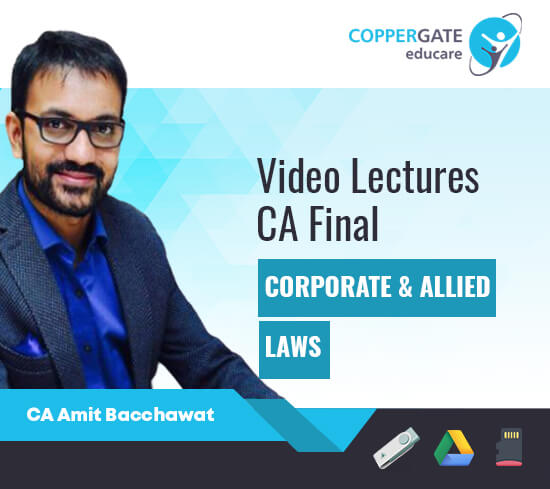 CA Final Old Syllabus Corporate & Allied Laws by CA Amit Bachhawat