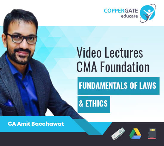 CMA Foundation Fundamentals of Laws & Ethics by CA Amit Bachhawat