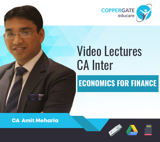 CA Inter Economics by CA Amit Meharia [Full Course]-Premium or Standard Validity