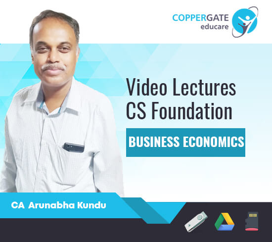 CS Foundation Business Economics by CA Arunabha Kundu