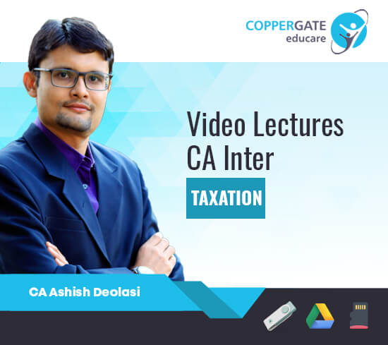 CA Inter IDT,GST by CA Ashish Deolasi [Full Course]