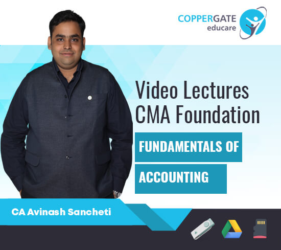 CMA Foundation Fundamentals of Accounting by CA Avinash Sancheti