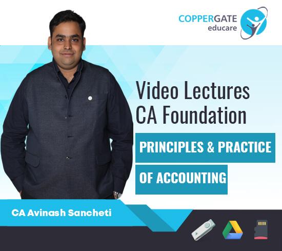 CA Foundation Principles & Practice of Accounting by CA Avinash Sancheti