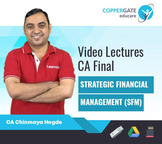 CA Final New Strategic Financial Management by CA Chinmaya Hegde [Regular Course]