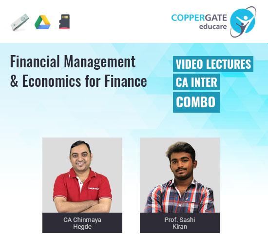CA Inter FM & ECO by CA Chinmaya Hegde & Prof. Shashi kiran [Regular Course]