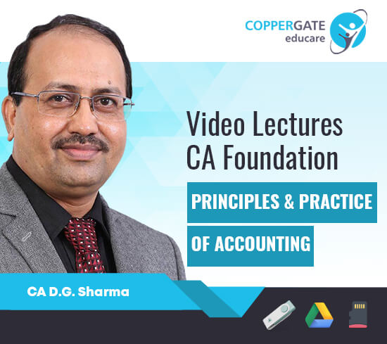 CA Foundation Principle & Practices Of Accounting by CA D. G. Sharma [Full Course]