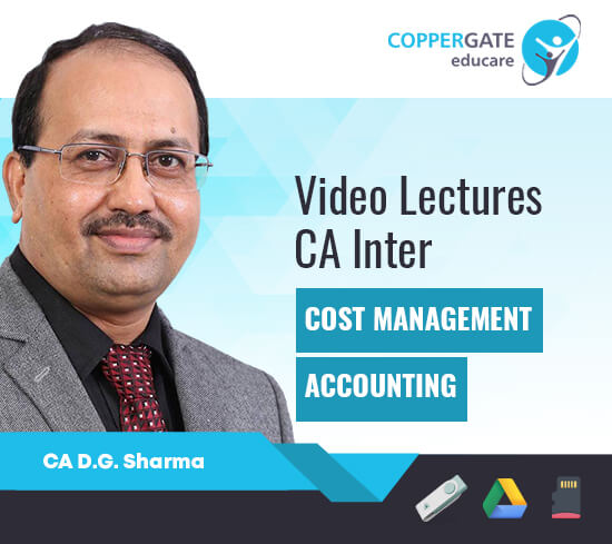 CA Inter Costing by CA D. G. Sharma [Full Course]