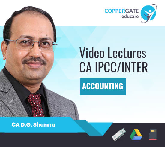 CA Inter/IPCC Group 1 Accounting,AS by CA D. G. Sharma [Full Course]