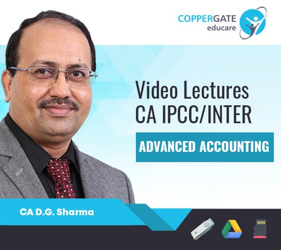 CA Inter/IPCC Group 2 Advanced Accounting,AS by CA D. G. Sharma [Full Course]