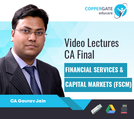 CA Final Elective Paper 6B Financial Services & Capital Markets by CA Gaurav Jain