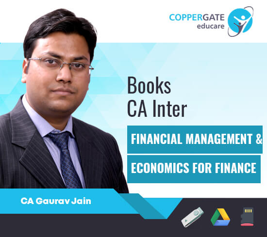 CA Inter FM & ECO by CA Gaurav Jain [Books]