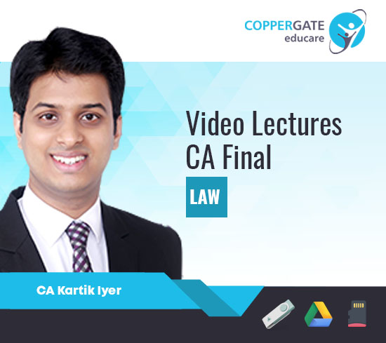 CA Final New/Old Course Law by CA Kartik Iyer [Full Course]