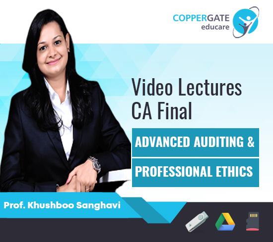 CA Final New/Old Audit By Prof. Khushboo Sanghavi [FastTrack]
