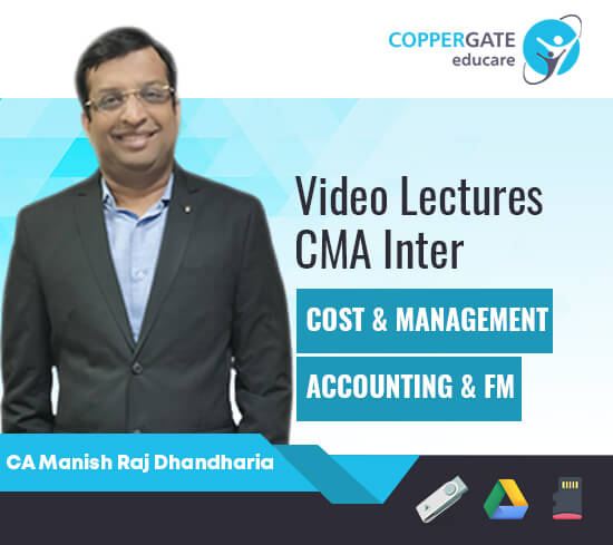 CMA Inter Costing & FM by CA Manish Raj Dhandharia [Full Course]-Premium or Standard Validity